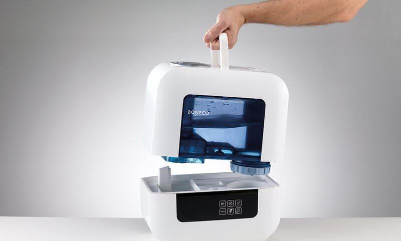 Увлажнитель воздуха Boneco U700 снятие бака для воды